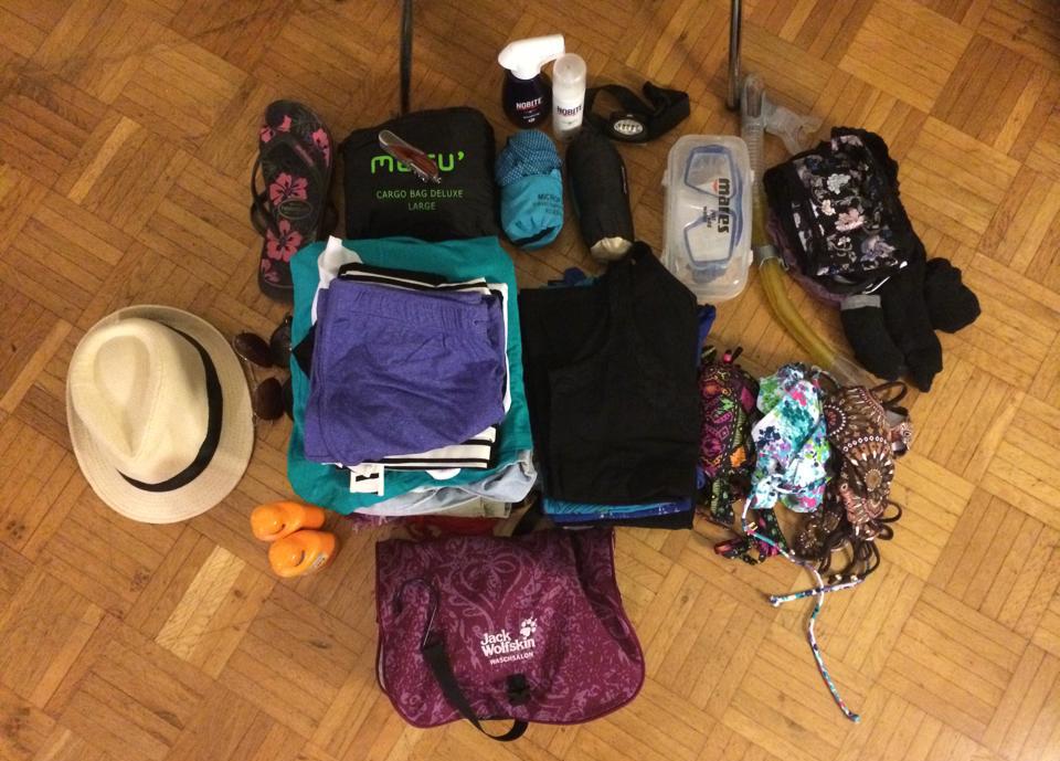 Reduziertes Reisen - Packliste für's Backpacking in Südostasien.