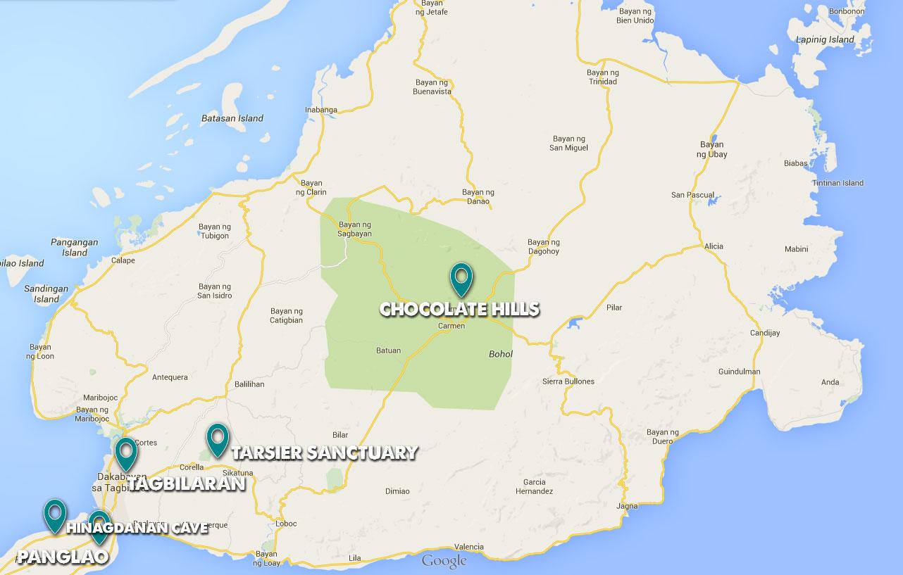 Karte_Bohol