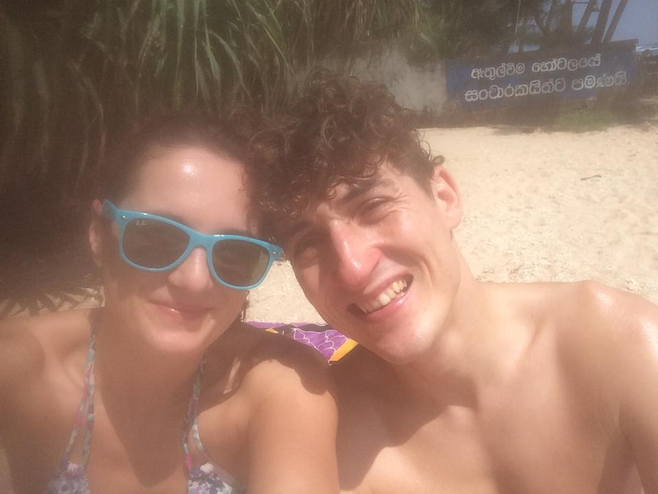 Lexi & me – Am Polhena Beach