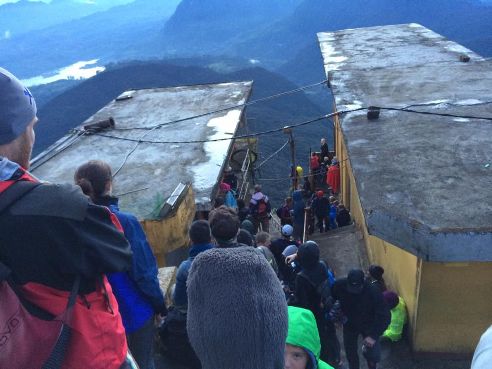Auf dem Adam's Peak