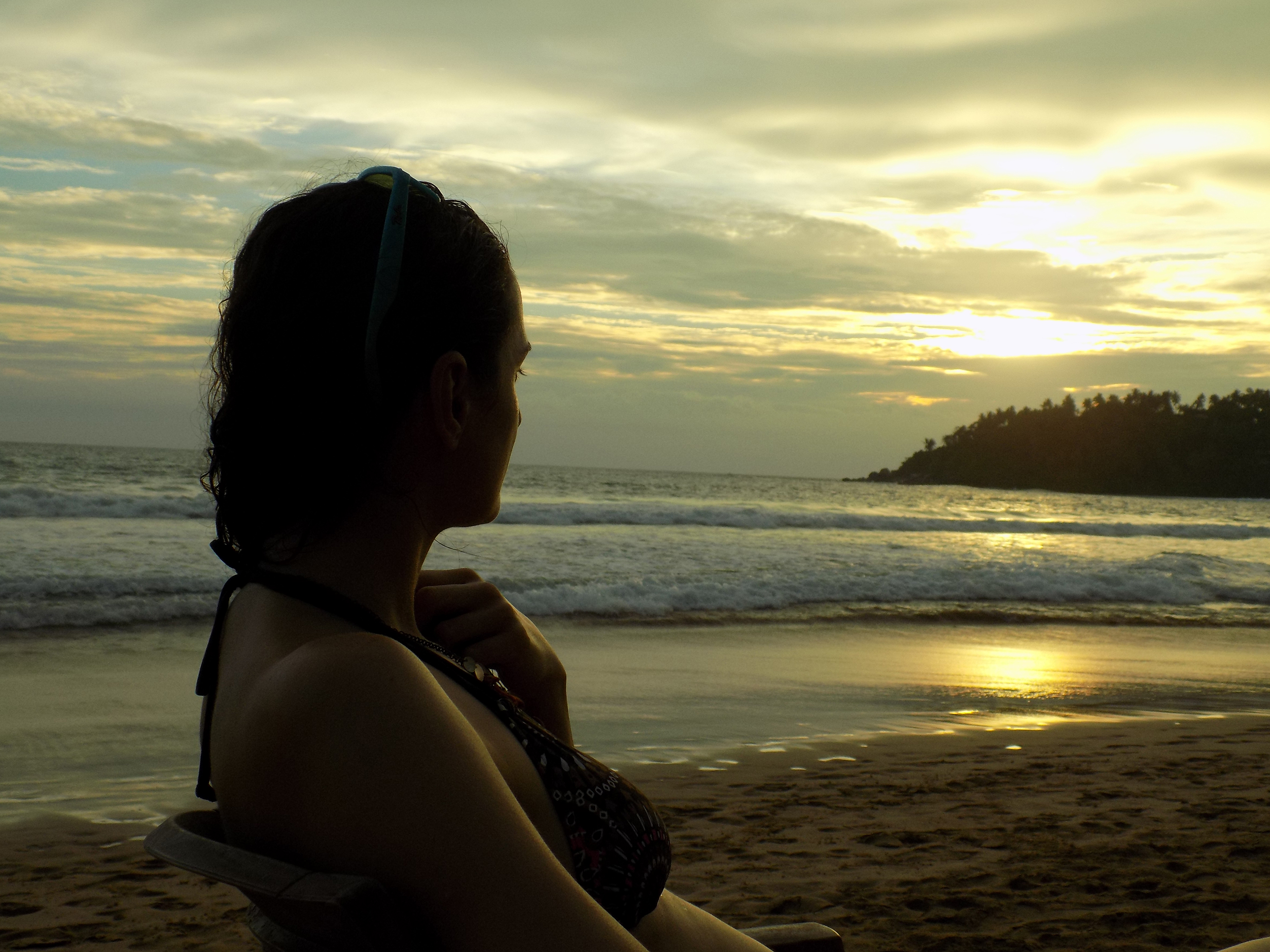 Relaxen am Strand