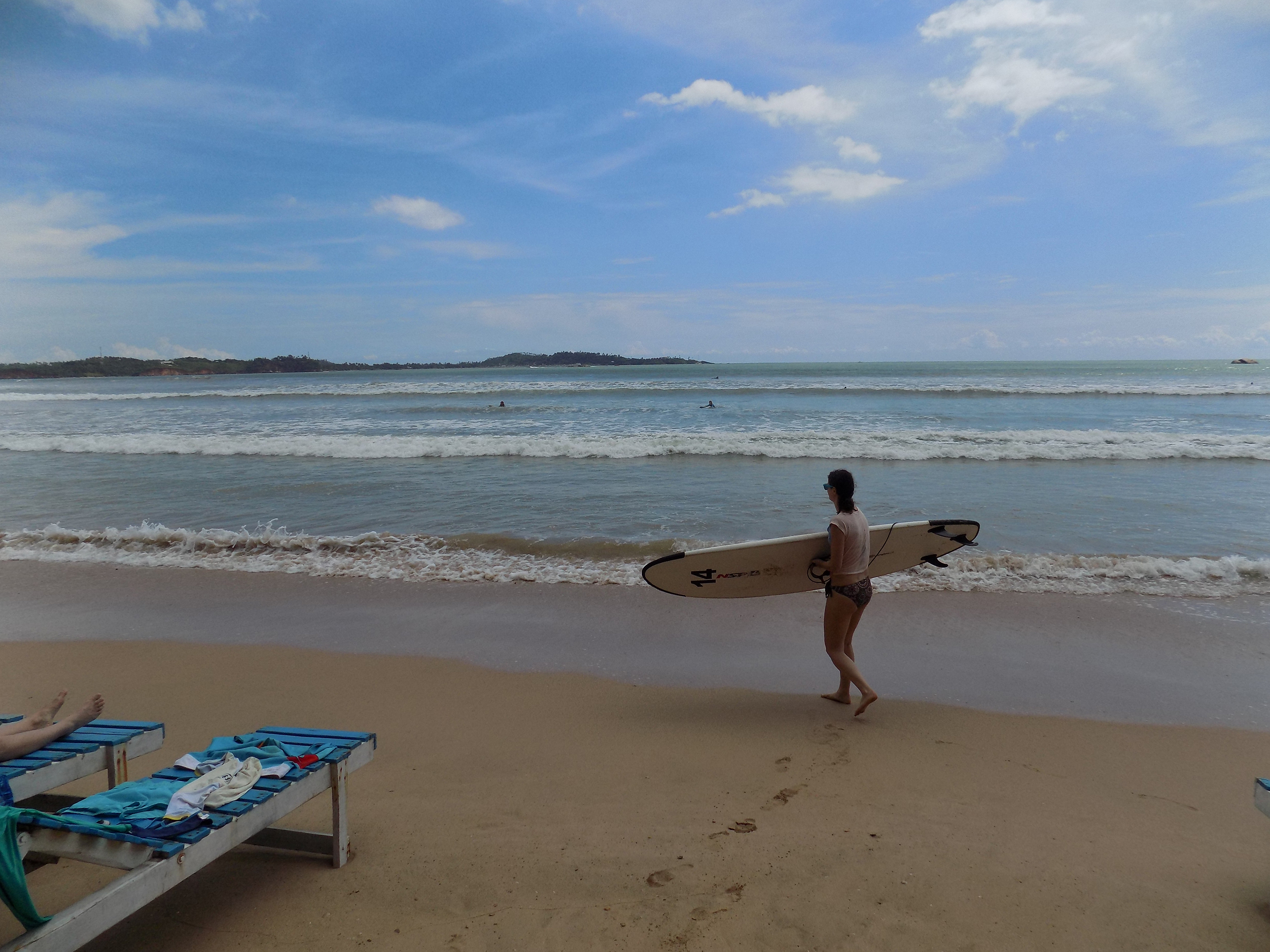 Surfen in Weligama