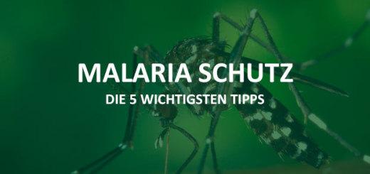 Malaria Schutz Südostasien