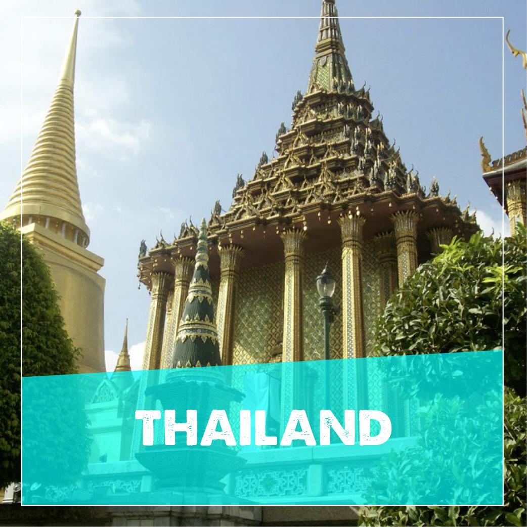 reiseziele thailand