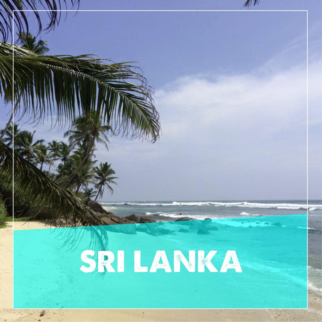 reiseziele Sri Lanka