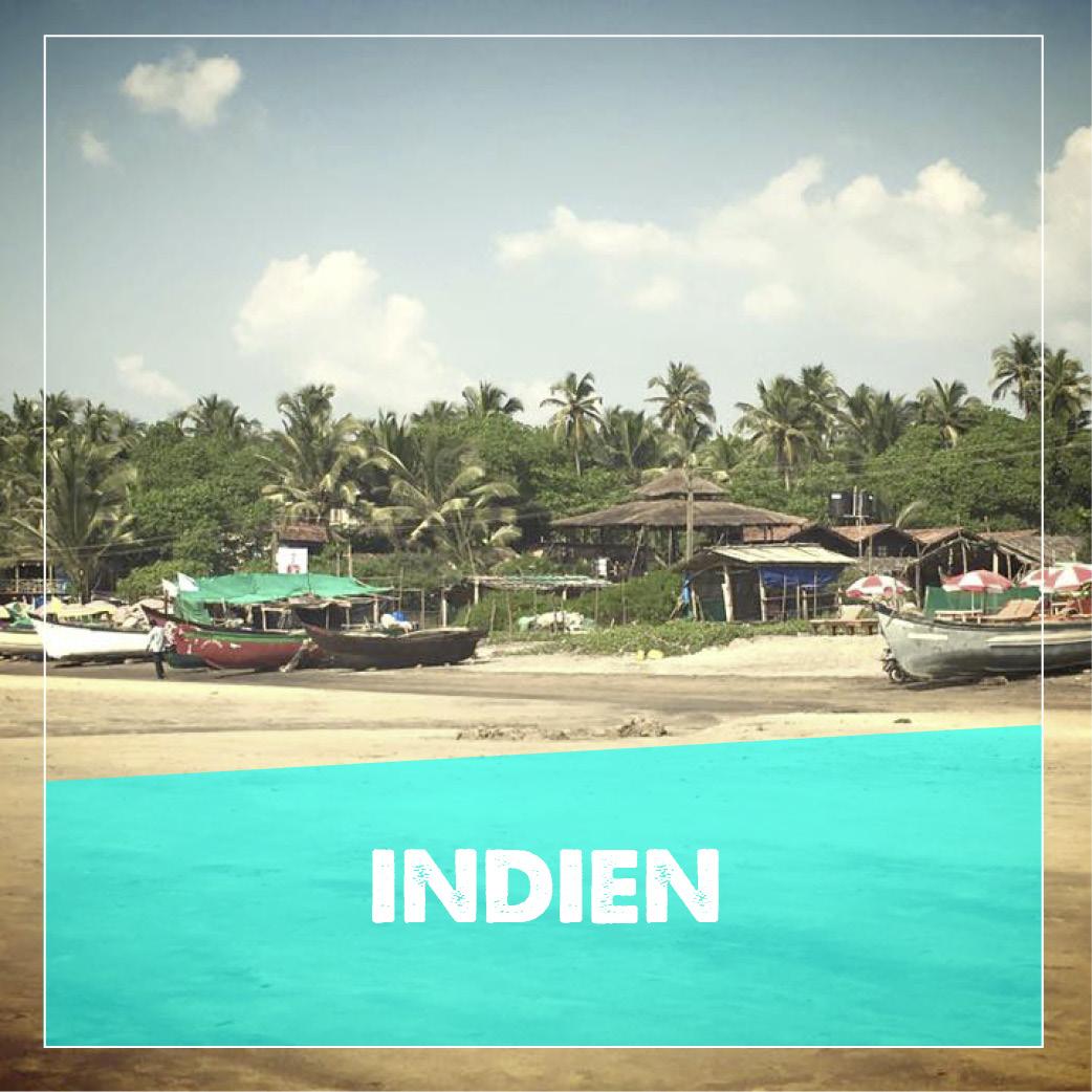 reiseziele indien