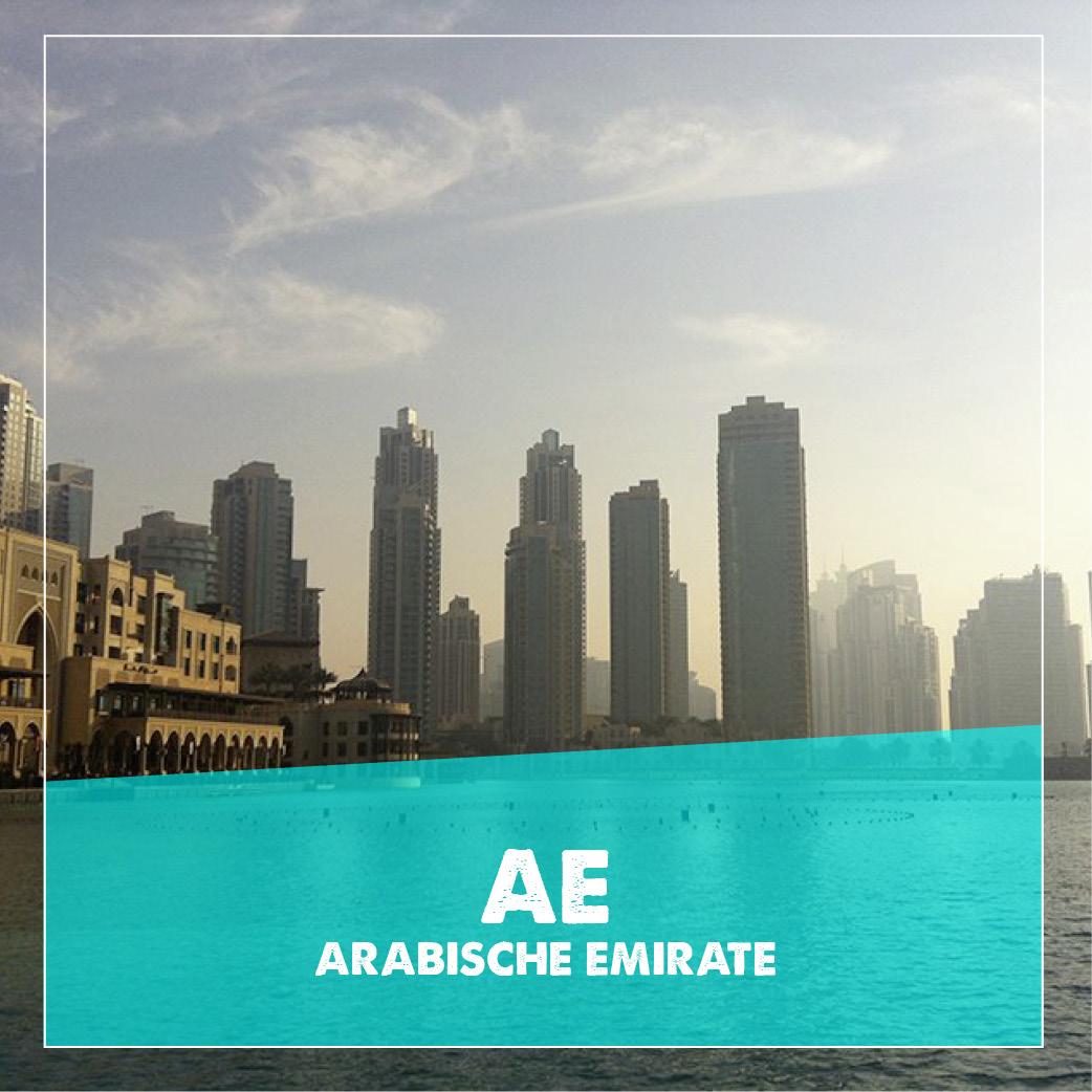 reiseziele arabische emirate
