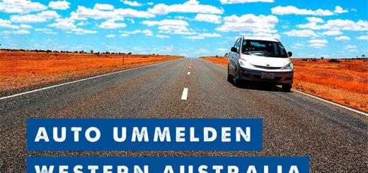 Auto ummelden Western Australia